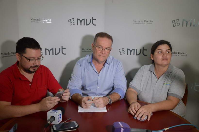Lagna si anunció los cambios en su área con la ausencia de la denigrada Cufré que no participó de la conferencia de prensa