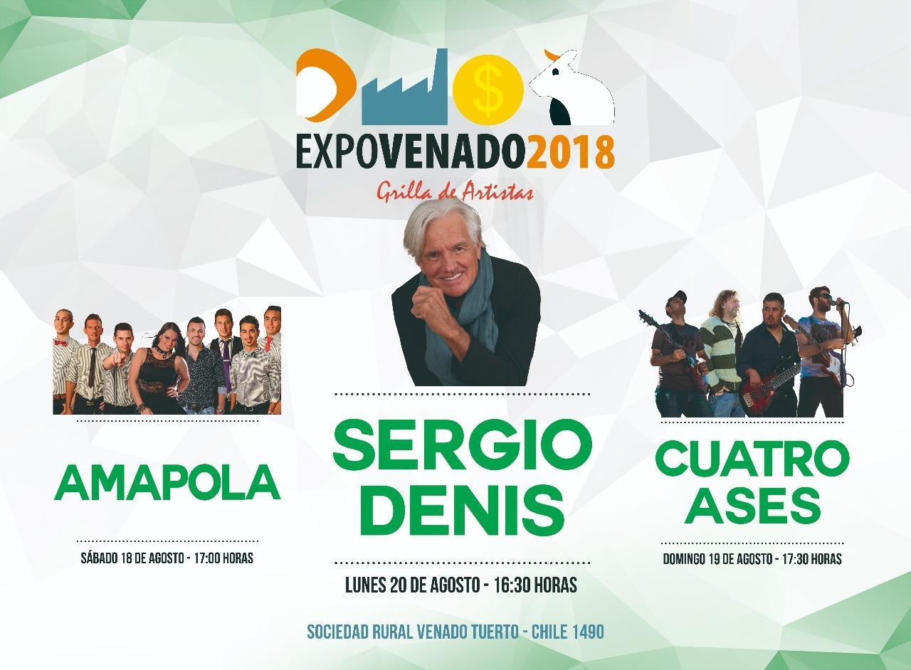 EXPOVENADO 2018 numeros musicales