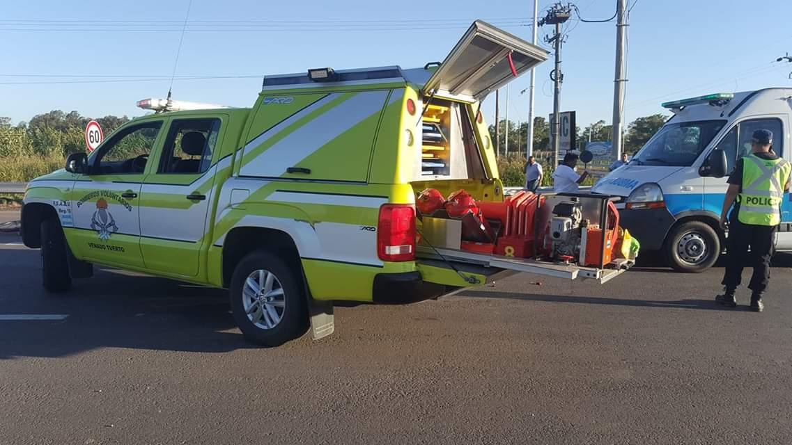 Accidente fatal en ruta 33 y Santa Fe: niña en bicicleta fue arrollada por un camión