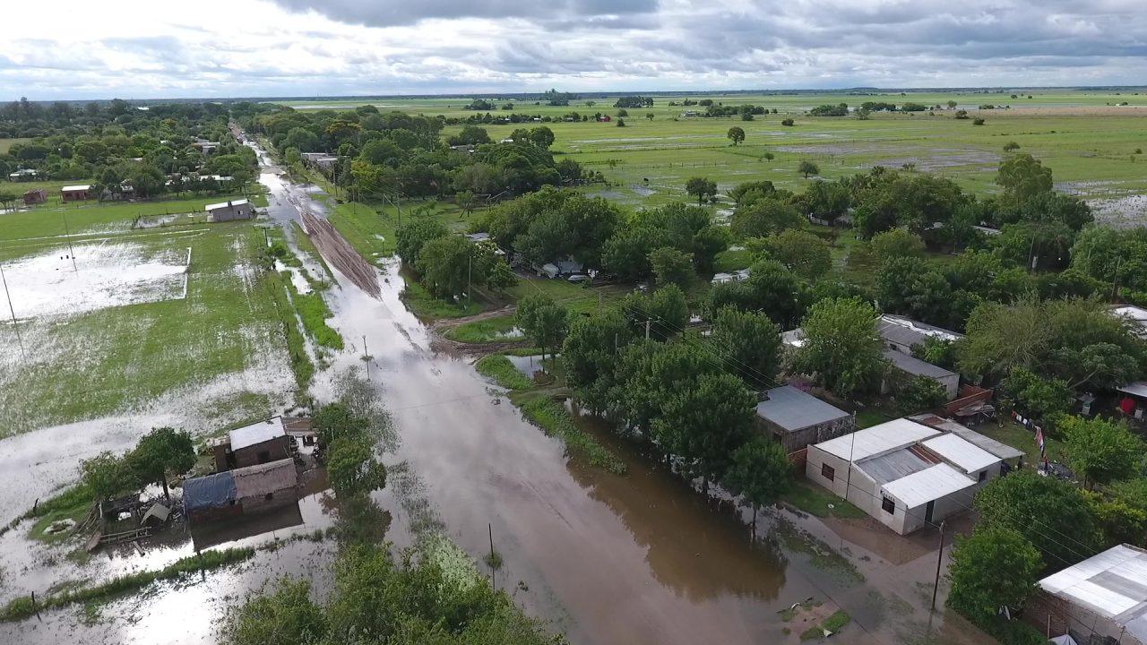 Inundación en el norte santafesino: 294 personas permanecen evacuadas