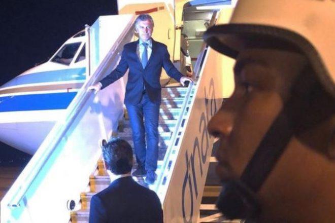 """Macri ya está en Brasil y se reunirá con Bolsonaro para """"afianzar la relación bilateral"""""""