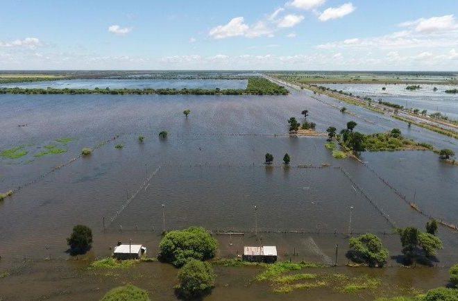 Inundación en el norte santafesinos: sobre el cierre del viernes son 459 las personas que permanecen evacuadas