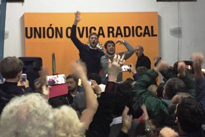 """Chiarella intendente: """"Vamos a demostrar que se puede gobernar con honestidad y transparencia"""""""