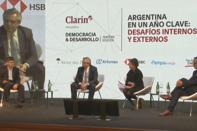 """Alberto Fernández: """"La Argentina no va caer en el default si soy presidente"""""""