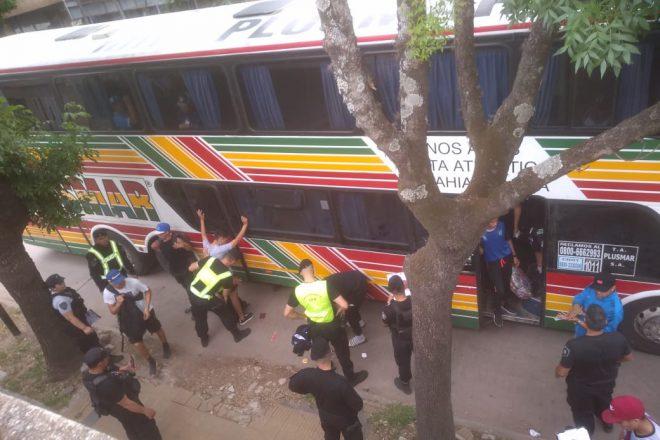Integrantes de la hinchada de Almagro detenidos en Venado Tuerto