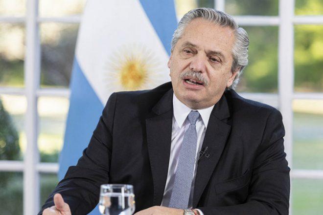 """""""Esta es la última oferta; espero que la entiendan"""", dijo Fernández sobre la deuda externa"""