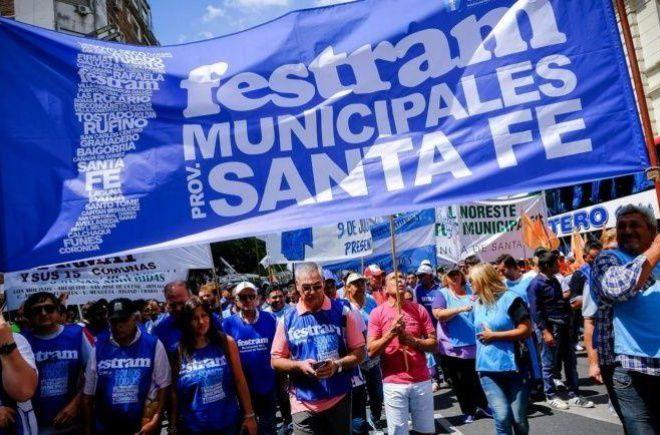 Municipales confirmaron el paro del jueves contra el bono de tres mil pesos