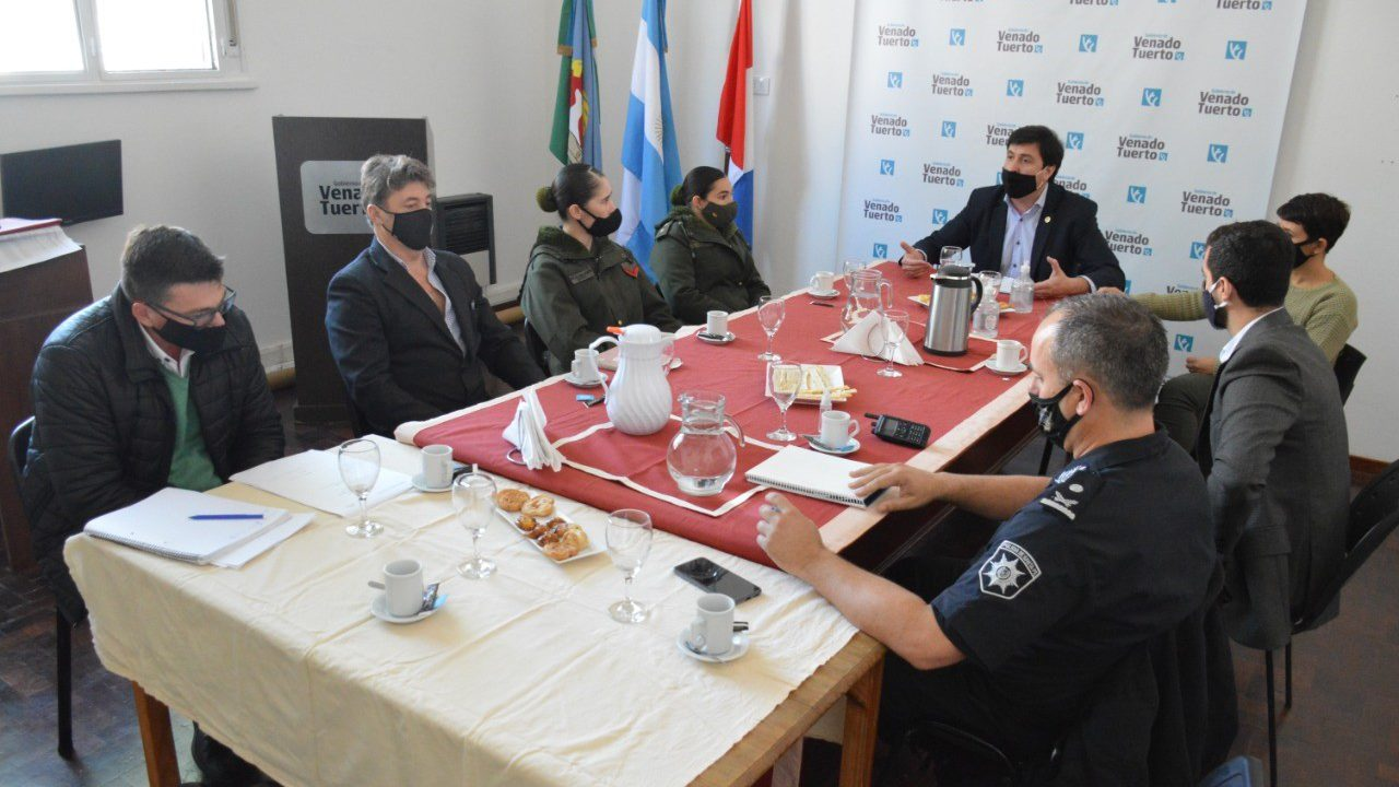 """Se reunió la Mesa de Seguridad y Milardovich cuestionó a quienes """"critican sin propuestas"""""""