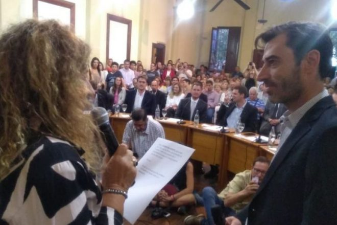 La oposición política sorprendida por los cambios en el gabinete de Chiarella