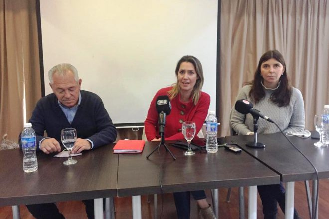 """Carolina Losada en Venado Tuerto: """"Vamos a enfrentar al kirchnerismo con coraje"""""""