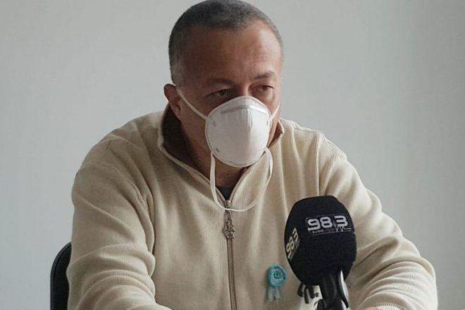 """Pedro Bustos atribuyó el aumento de contagios en Venado Tuerto a """"la excesiva circulación de gente"""""""