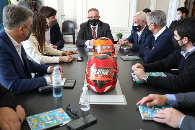 Nación y Provincia firmaron acta de compromiso para reducir la siniestralidad en motos