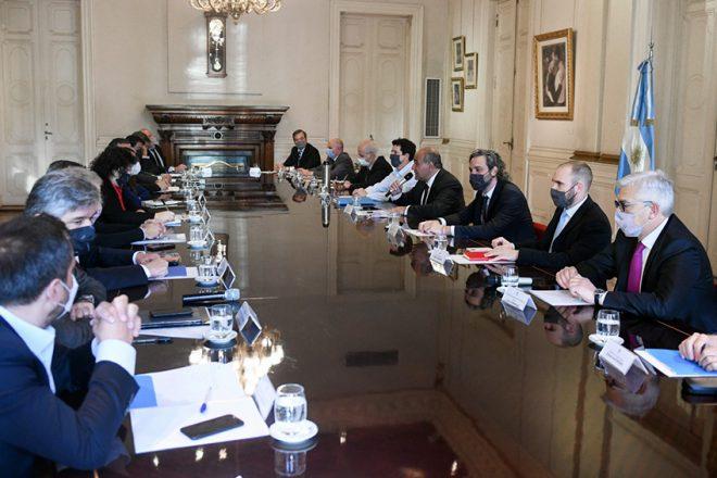 """Tras la reunión de gabinete, el Gobierno habla de """"recuperar la gestión"""""""
