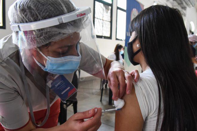 Asignaron los turnos de vacunación contra el Covid 19 a los inscriptos de entre 12 y 17 años